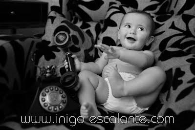 Fotografía bebes recién nacidos Barakaldo Bilbao niños Fotógrafo